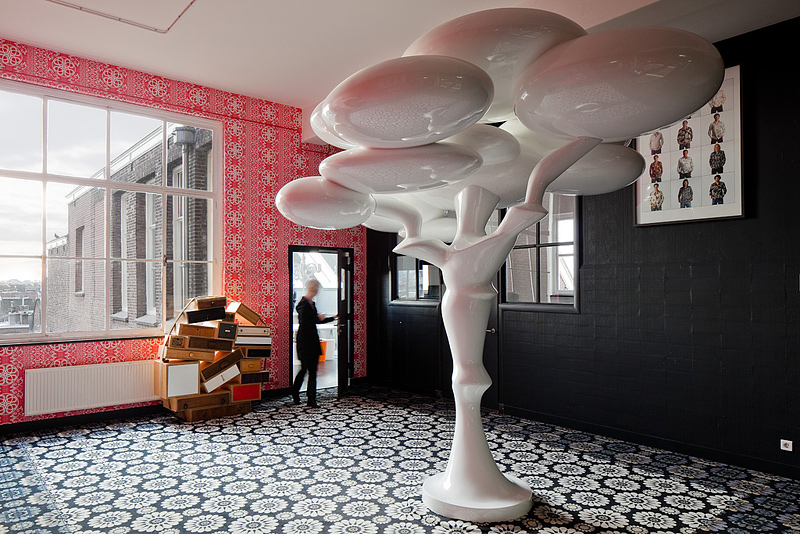 Marcel wanders studio at westerhuis amsterdam the for Hotel design job