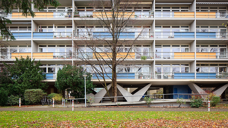 edif cio residencial em hansaviertel berlin alemanha fotografias de pedro kok. Black Bedroom Furniture Sets. Home Design Ideas